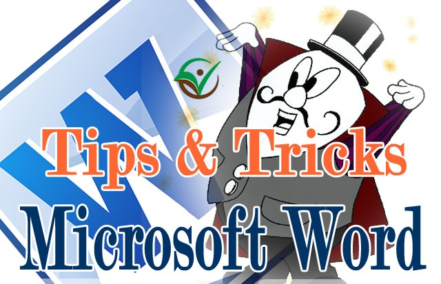 Magical tricks in MS WORD Part 1