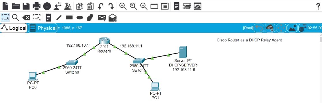 How to configure Cisco Router as DHCP Relay Agent